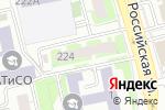 Схема проезда до компании ОРТОС в Челябинске