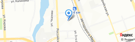 Детский сад №319 на карте Челябинска