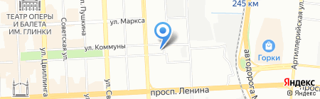 Provance на карте Челябинска