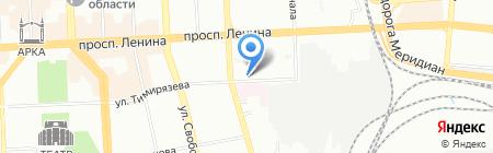 Улыбка на карте Челябинска