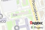 Схема проезда до компании Априори-Строй в Челябинске