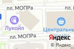 Схема проезда до компании Бизнес-Лайн в Челябинске