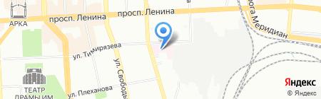 Областной перинатальный центр на карте Челябинска