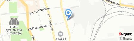 Академия Домашнего Кинотеатра на карте Челябинска