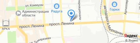 Комод с одеждой на карте Челябинска