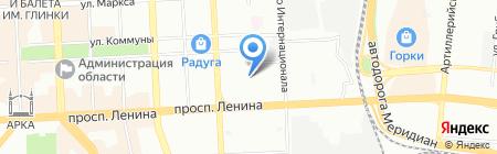 Шарм на карте Челябинска