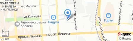 Халяль на карте Челябинска