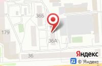 Схема проезда до компании Концепт в Челябинске