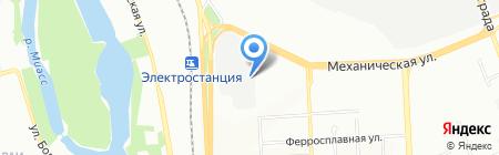 АВТОЗАПЧАСТИ ВАЗ на карте Челябинска