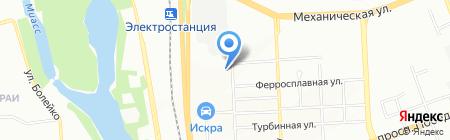 ЮжУралавтотехнология на карте Челябинска
