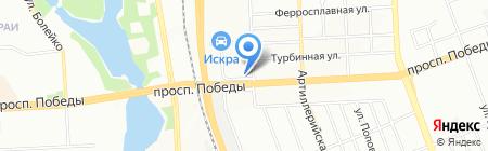 Русь на карте Челябинска