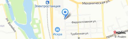 Мастерская декора на карте Челябинска