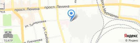 ЧГМК на карте Челябинска