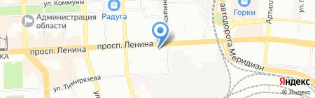Дуб Дубыч на карте Челябинска