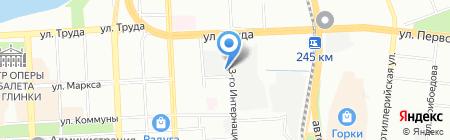 ЛидерТранс на карте Челябинска