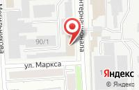Схема проезда до компании Ник в Челябинске