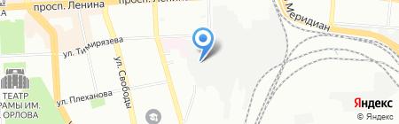 ОтделСтрой-К на карте Челябинска