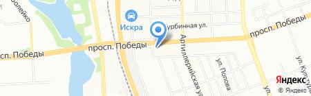 Кожа на карте Челябинска