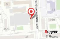 Схема проезда до компании Тотем в Челябинске