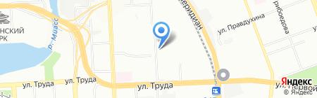 Городской ломбард на карте Челябинска