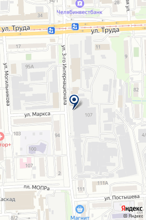 АГРОПРОМЫШЛЕННОЕ ОБЪЕДИНЕНИЕ МАКФА на карте Челябинска