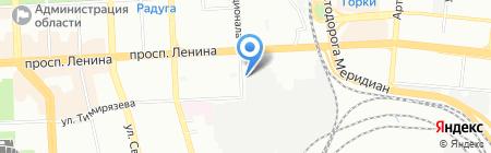 Дом-Упаковки на карте Челябинска