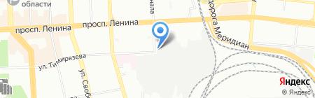 Чистый город на карте Челябинска