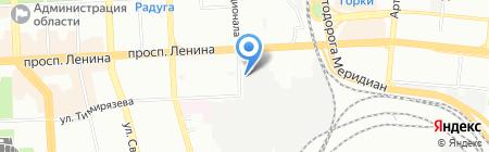 Резерв на карте Челябинска