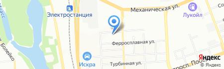 Диагностический центр на карте Челябинска