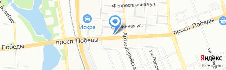Ребята нашего двора на карте Челябинска