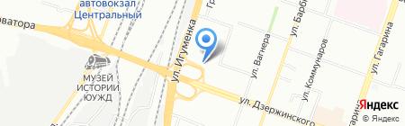 Царские хоромы на карте Челябинска