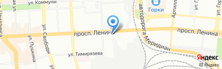 ДисконтМатрас на карте Челябинска