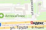 Схема проезда до компании Мамочкино счастье в Челябинске
