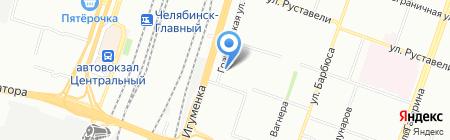 Рифарм на карте Челябинска