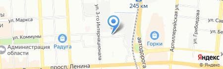Адвокатский кабинет Крохина О.А. на карте Челябинска