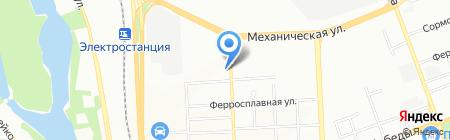 Центр социально-трудовой реабилитации на карте Челябинска