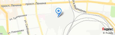 Потребительский гаражно-строительный кооператив №201 на карте Челябинска