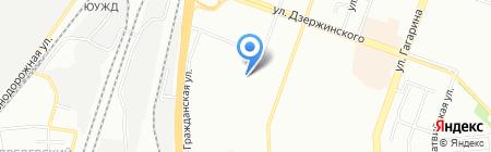 Хлебный Дом на карте Челябинска