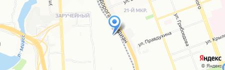 Drive на карте Челябинска