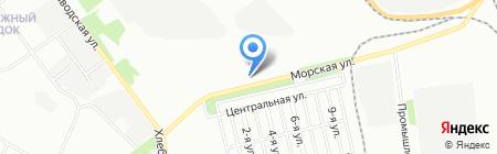 АМК-Троя на карте Челябинска