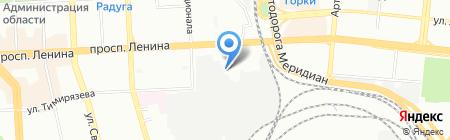 МС МЕБЕЛЬ на карте Челябинска