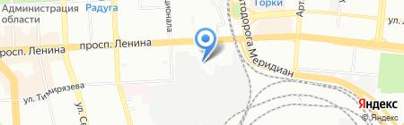 Бинаком на карте Челябинска