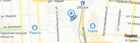 Энерговерсия на карте Челябинска