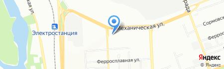 Автопрофи на карте Челябинска