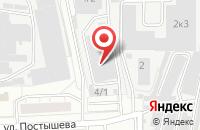 Схема проезда до компании Принттерра в Челябинске