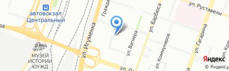 Уголовно-исполнительная инспекция ГУФСИН России по Челябинской области на карте Челябинска