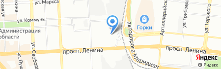 Деловые люди на карте Челябинска