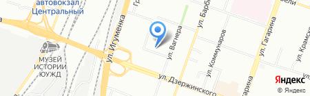 Южно-Уральская дирекция по тепловодоснабжению на карте Челябинска
