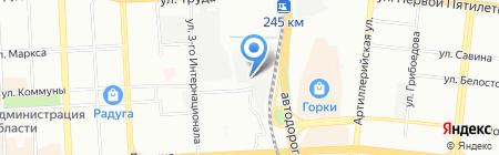 Книга на карте Челябинска
