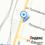 СтеклоЧел на карте Челябинска